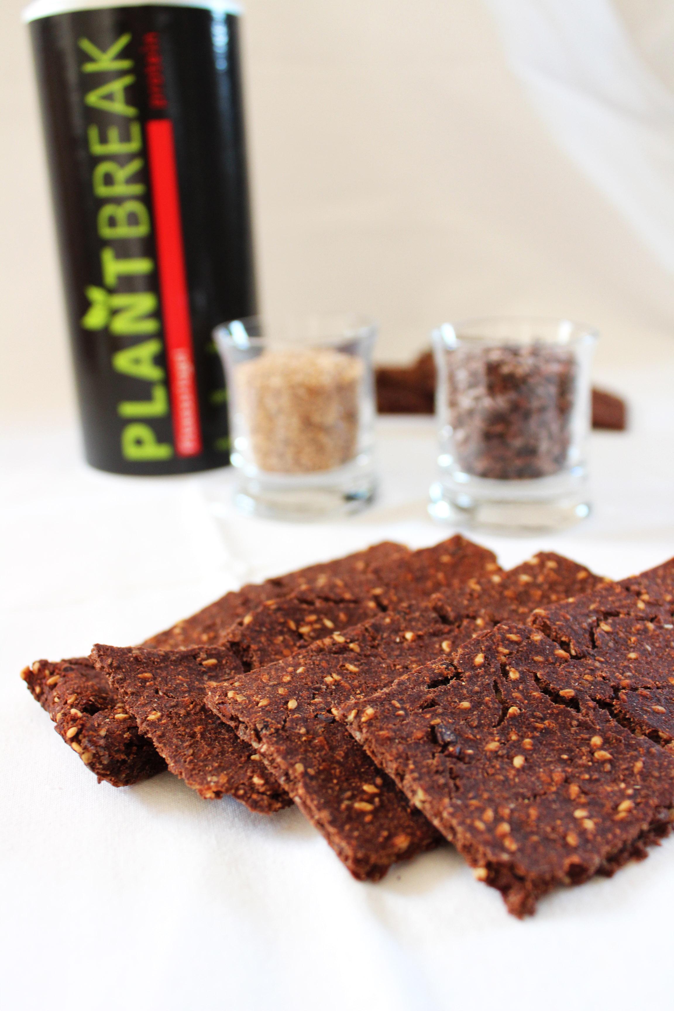protein FlatBreads vegan und gesund mit PlantBreak zubereitet