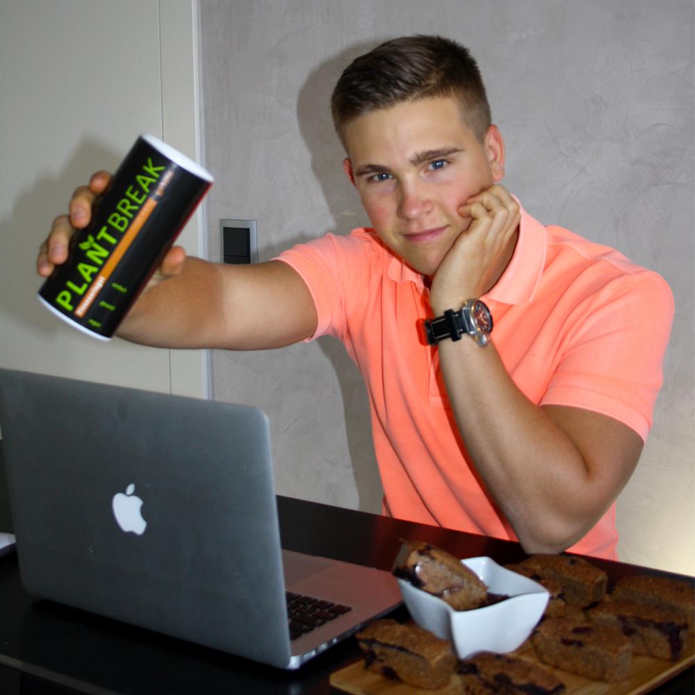 Max Rongen mit PlantBreak